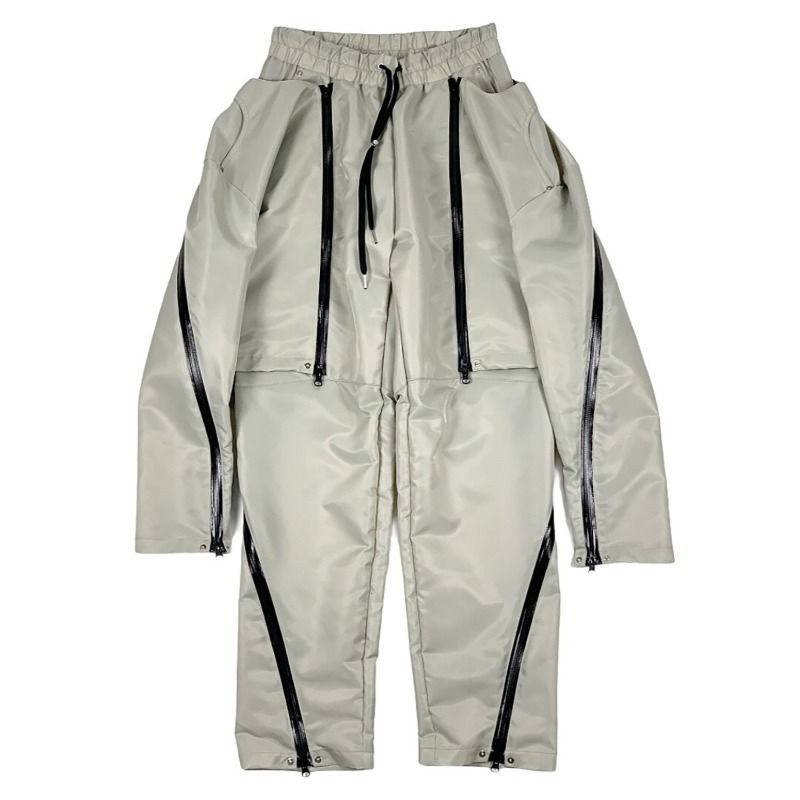 [SURGERY : 써저리] Set-up Docked Pants Beige
