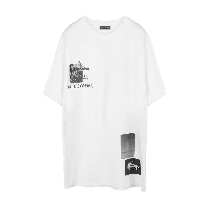 [SUNDAY OFF CLUB : 선데이 오프 클럽] Isolated Children 1/2 T-shirt White