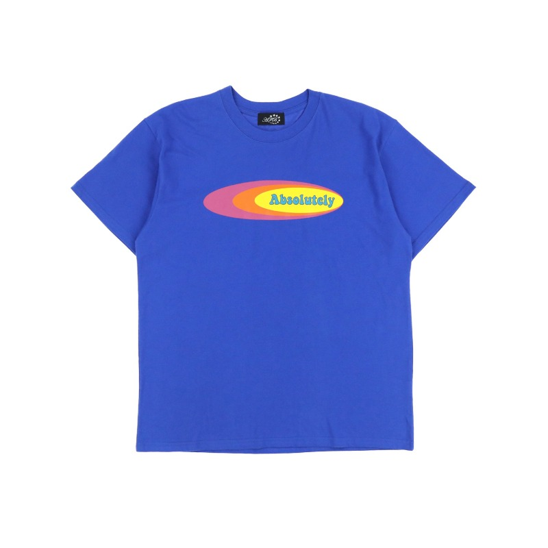 [AFB : 에이에프비] ABSOLUTELY artwork T-shirt Blue