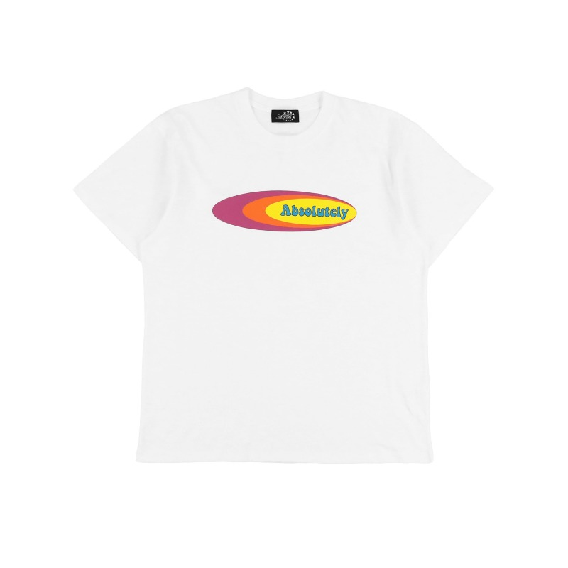 [AFB : 에이에프비] ABSOLUTELY artwork T-shirt White